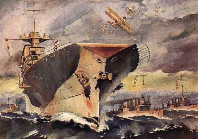 Gallery Pre World War II Naval Art of Arthur Beaumont